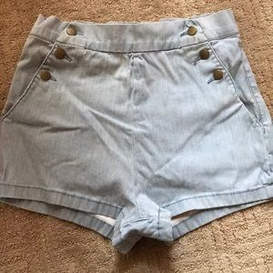 Urban outfitters high waisted pin up short